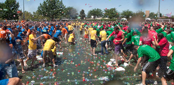 The Great American Water Balloon Fight