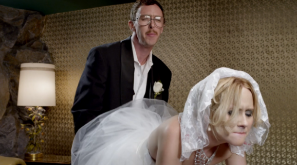 Funny Skittles Commercial Featuring The Newlyweds
