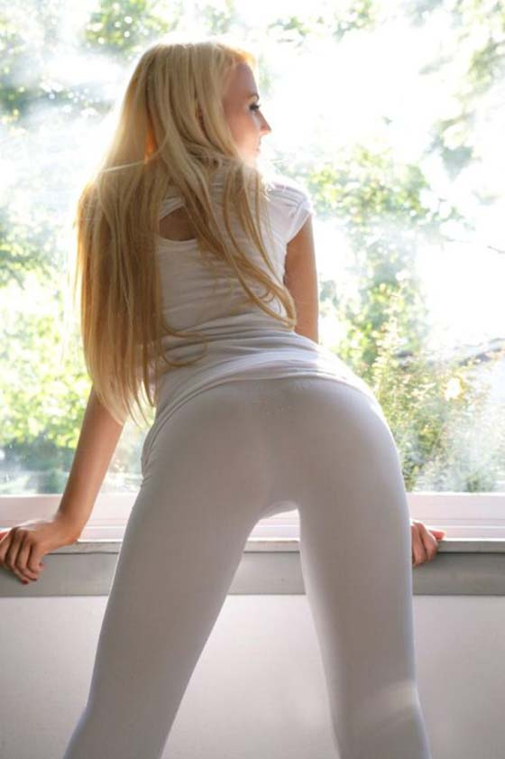 More Sexy naked girls in yoga pants accept