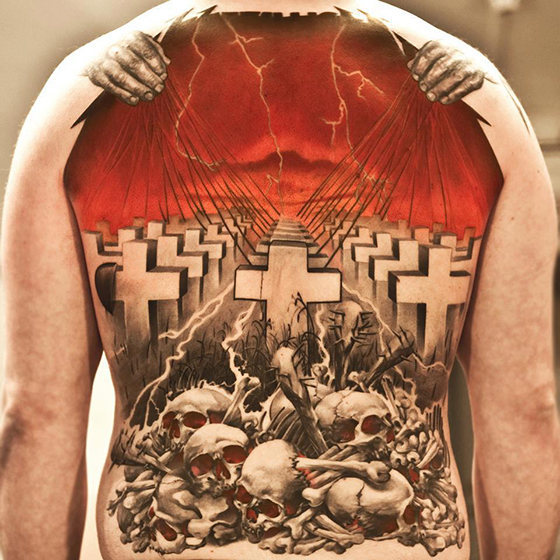 Awesome tattoos pictures and tips for finding a great for Metallica sleeve tattoo