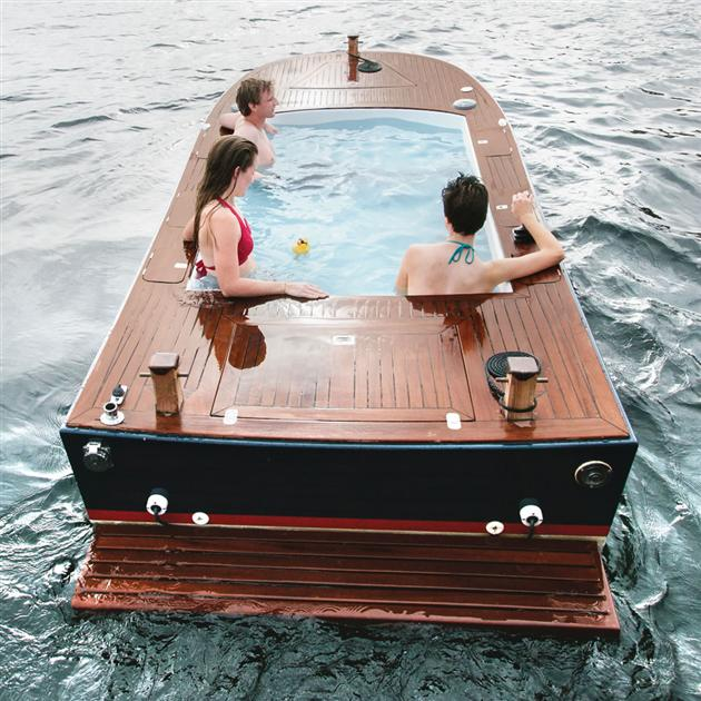 Electric-Hot-Tub-Boat
