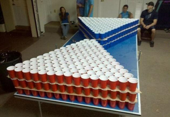 Beer Pong Table 3 Level
