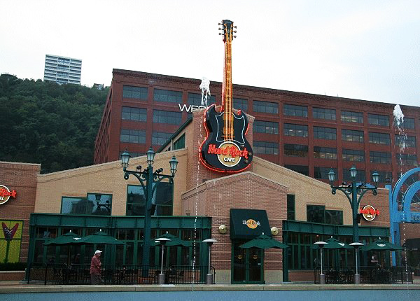 Hard Rock Cafe Pittsburgh Stage