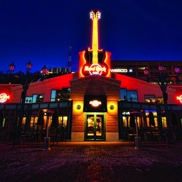 Hard Rock Cafe Station Square Pittsburgh