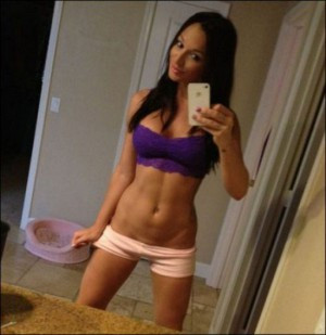 hot-girl-yoga-shorts-pink-purple