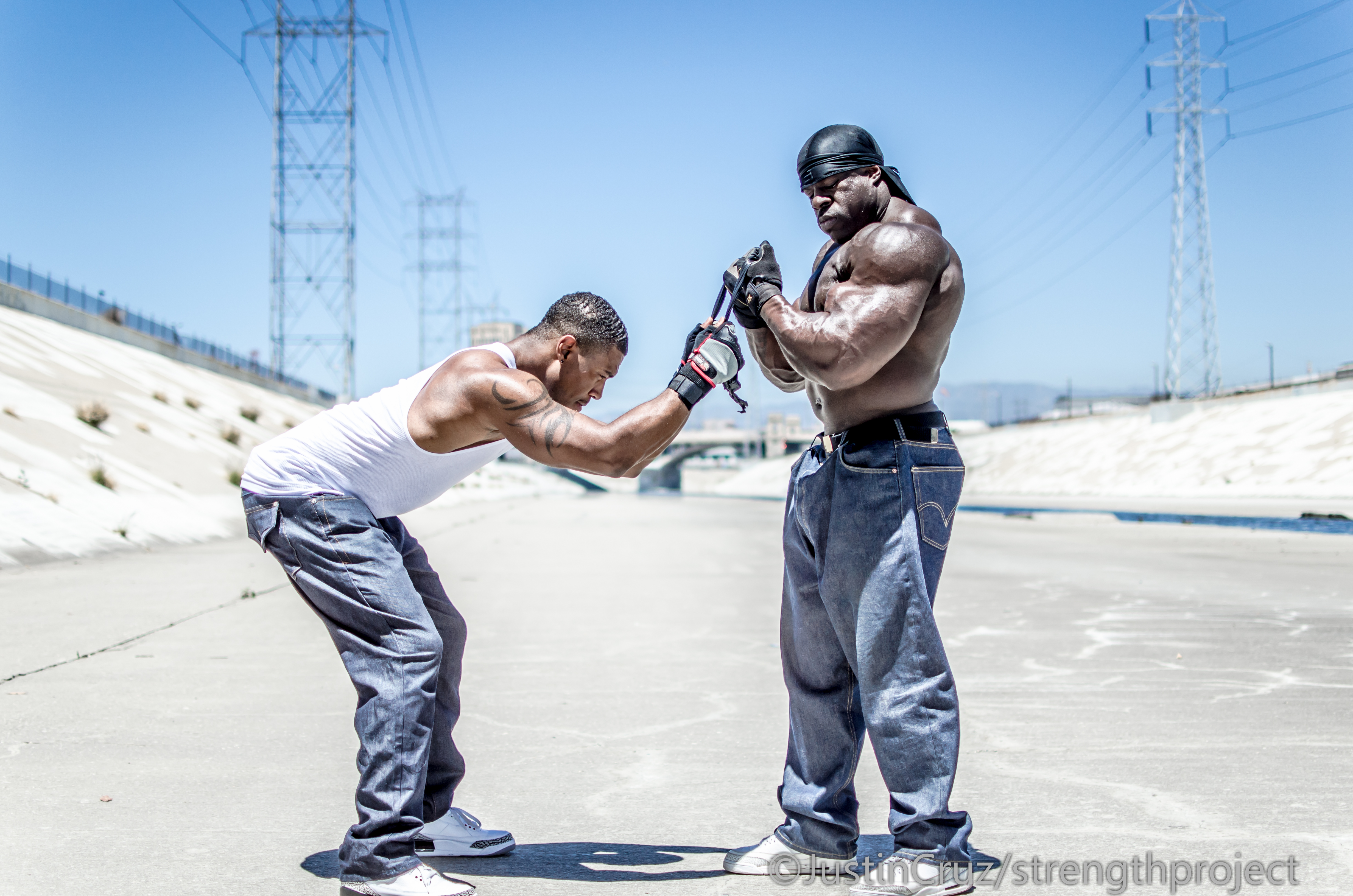 kali muscle, Muscles
