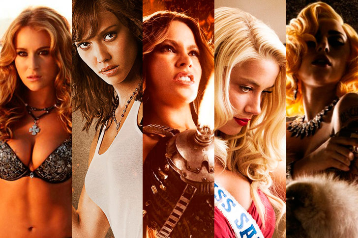 The women of Machete Kills