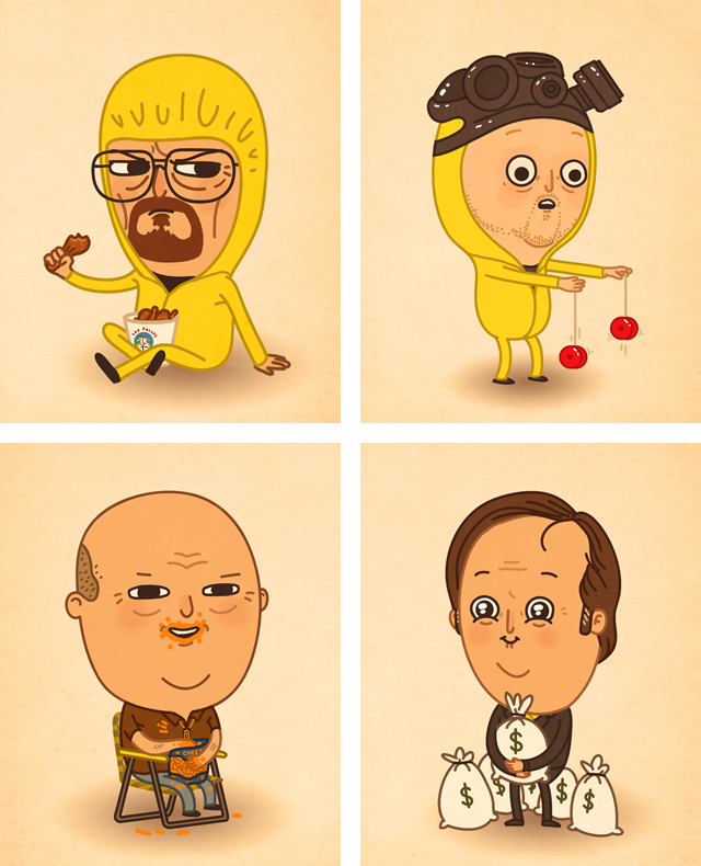 breaking-bad-art-characters