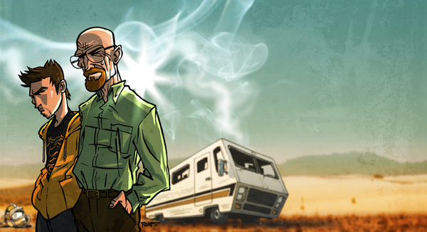 breaking-bad-art-characture-art