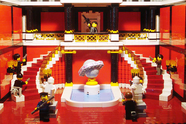 Famous Movie Scenes Recreated With Legos - 15 awesome movie scenes recreated with lego