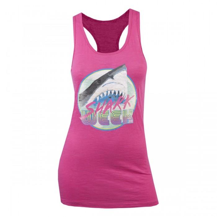 pink shark week tank