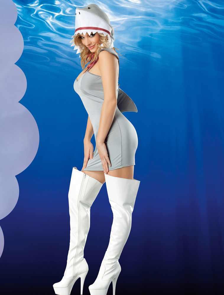 sexy shark dress