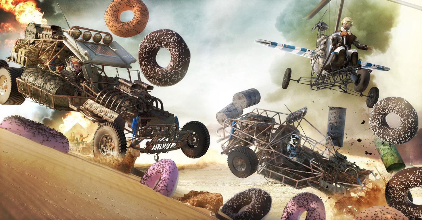 donut go cart