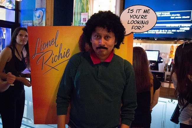 lionel richie album cover costume - Superbad Halloween Costumes
