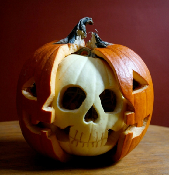 I'm a bit of a pumpkin-purist; for my entire life I have only used a knife  to carve a pumpkin. No glitter, paint, extra pumpkin parts, etc. allowed on  my ...