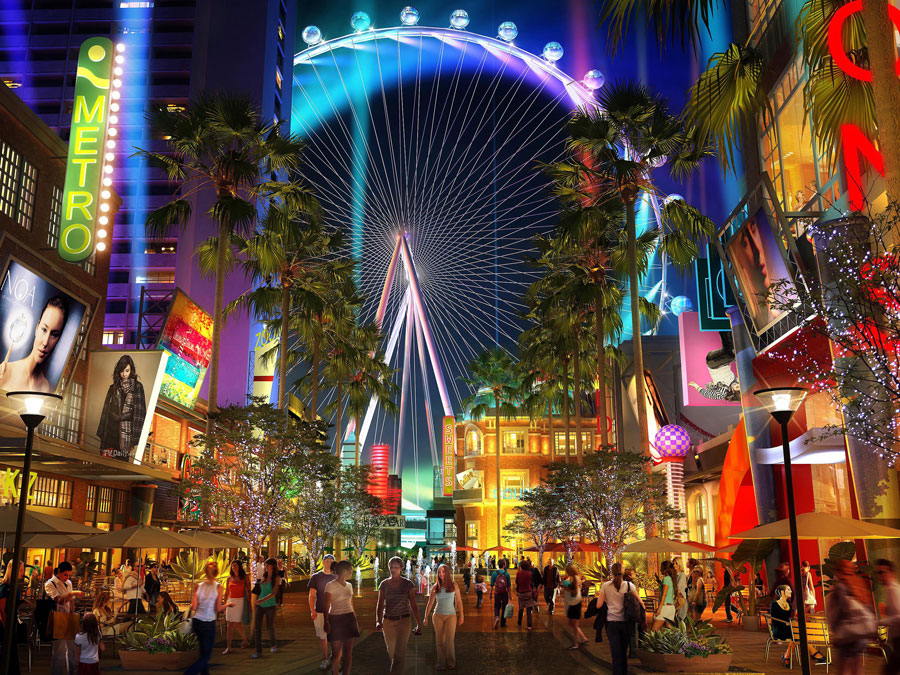 vegas linq high roller