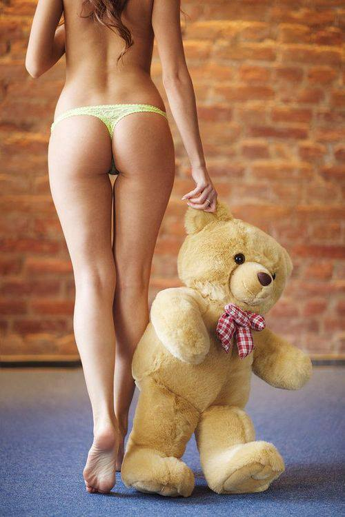yellow-thong-and-teddy-bear