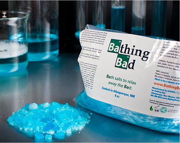 Breaking Bad Crystal Meth bath salts