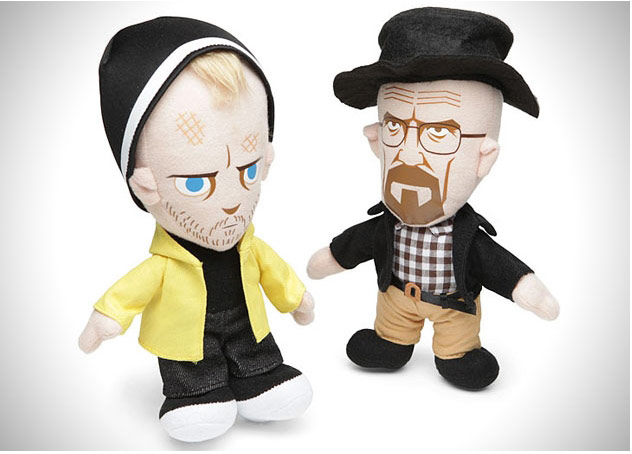 Jesse Pinkman and Walter White as 'cuddly' toys