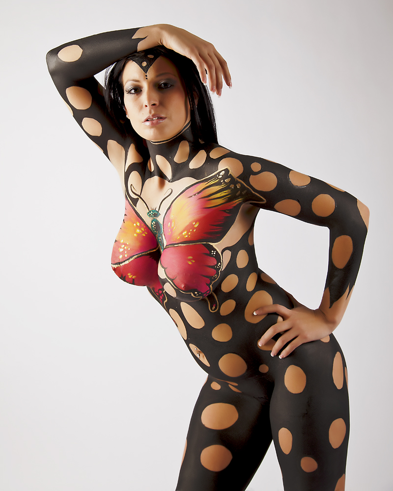 naked full body paint