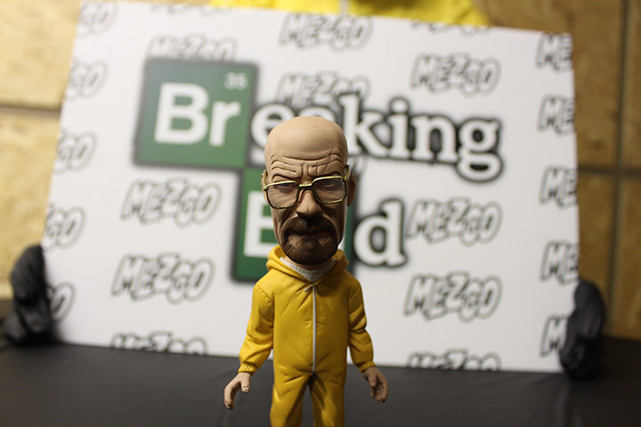Wobble headed Walter White doll