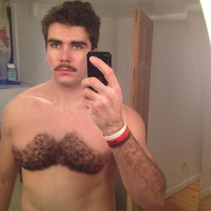 selfie-Movember-Chest