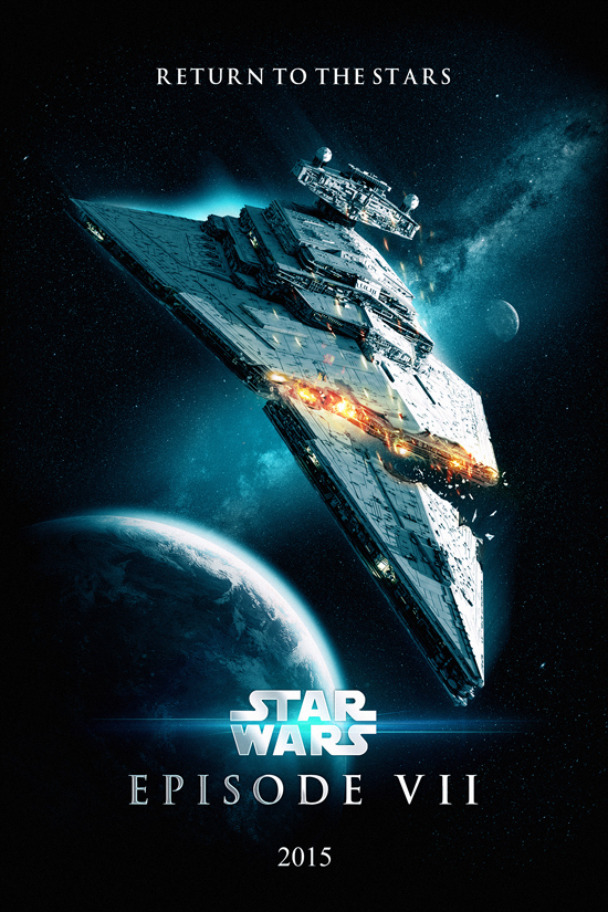 star wars episode vii 50 movie posters based on all the rumors. Black Bedroom Furniture Sets. Home Design Ideas