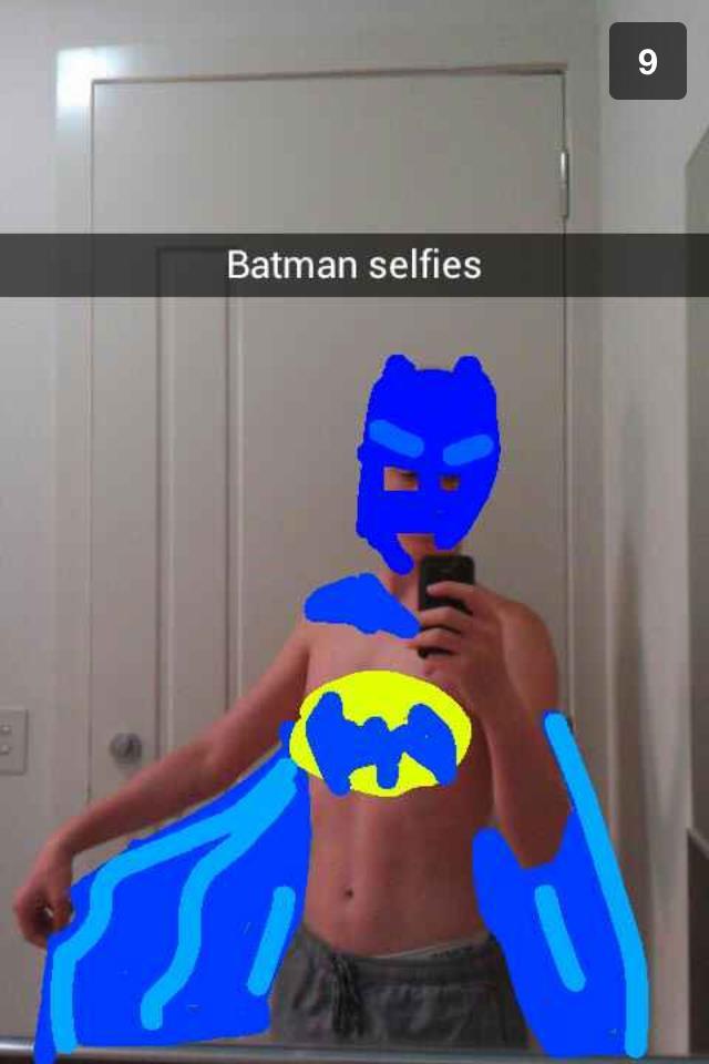 batman-selfie