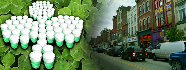 St. Patrick's Day Weekend Bar Crawl