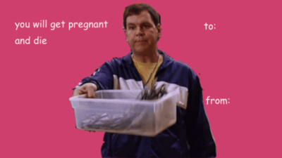 The Best Valentines Day Cards on the Internet Funny Clever Witty – Mean Valentine Cards
