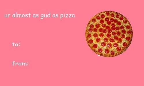 Fesselnd ... Pizza ...