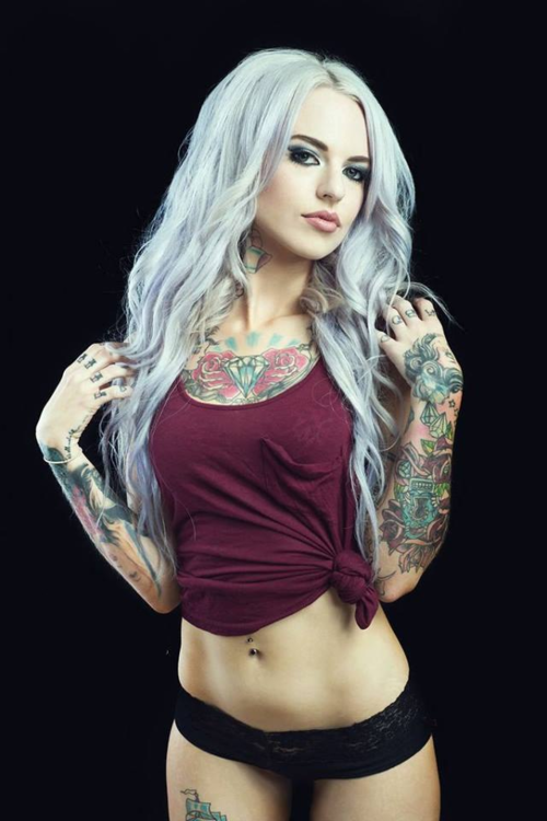 Apologise, Naked sexy tatted up girls