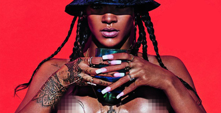 Apologise, but, Lui magazine rihanna nude