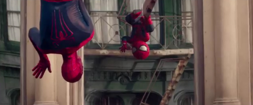 SpiderMan And His BabyMe Dance Battle To Here Comes The Hotstepper - Awesome video baby spiderman dancing