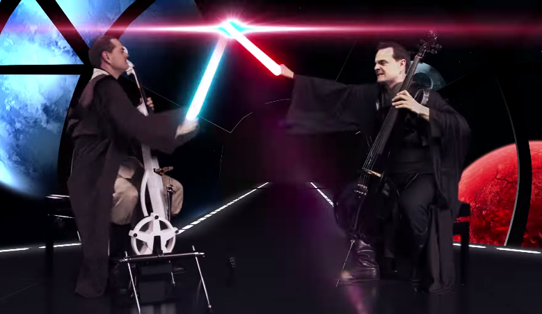 star wars cello wars lightsaber duels in the orchestra pit