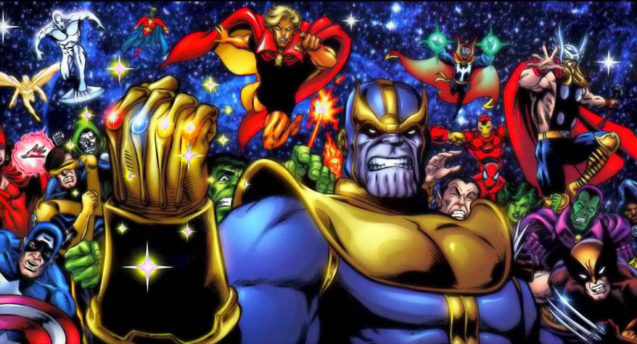 Thor-Thanos-Infinity-Gauntlet
