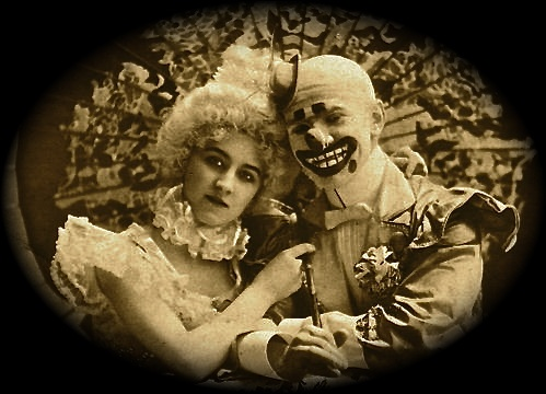 clown-couple